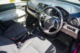 2013 Mitsubishi Mirage LA MY14 LS Hatchback