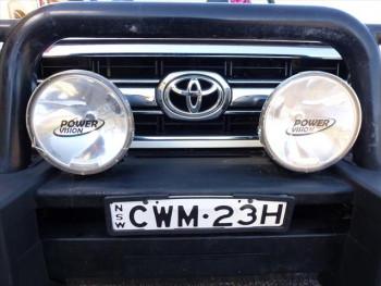 2014 Toyota Landcruiser VDJ79R GXL Cab chassis - single cab