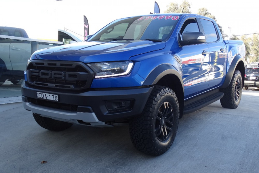 2018 MY19.00 Ford Ranger Raptor PX MkIII Double Cab Pick Up Dual cab