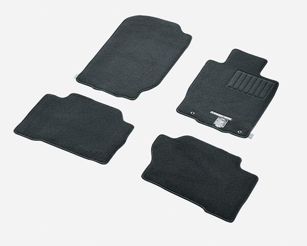 Carpet mat set - front and rear