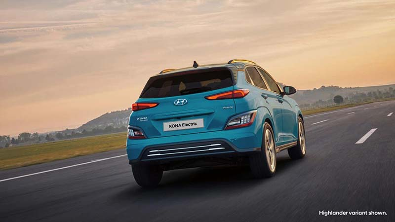Kona Electric Now available with a new 100kW Standard Range powertrain.