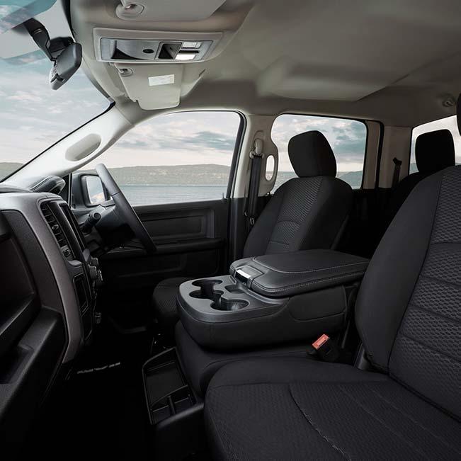 1500 Express V8 Hemi Crew Cab Interior