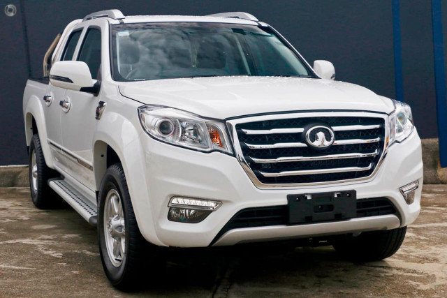 2019 MY18 Great Wall Steed NBP Dual Cab Diesel Utility