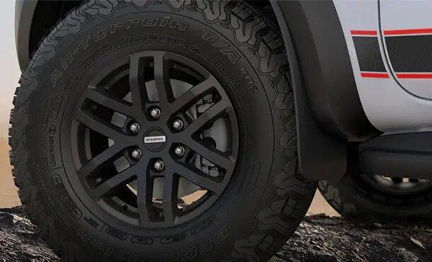 Ranger Raptor X Asphalt Black Wheels