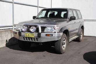 2001 Nissan Patrol GU II ST Suv