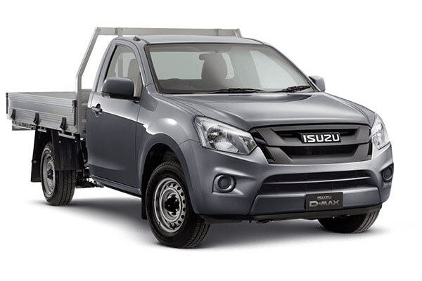 Isuzu UTE D-MAX SX Single Cab Chassis Low-Ride 4x2