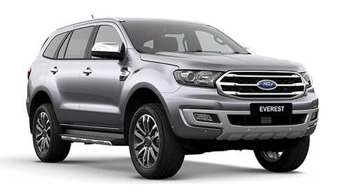 2018 MY19 Ford Everest UAII Titanium 4WD Wagon