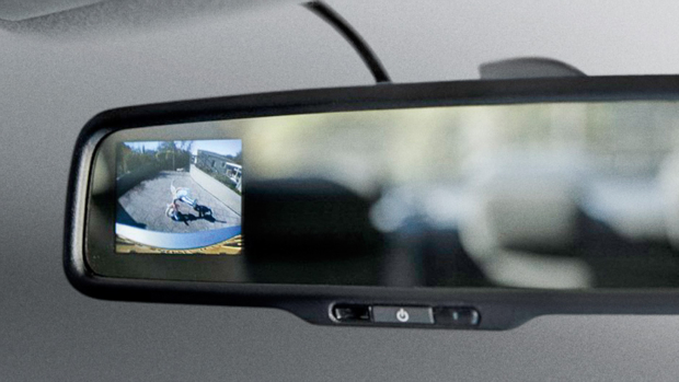 Electrochromatic Mirror & Rear View Camera (Sold separately)