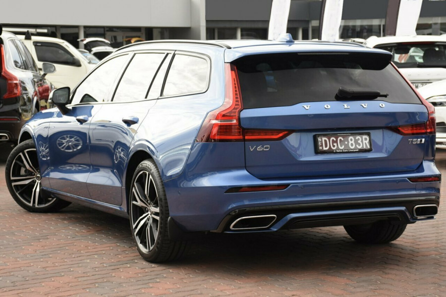 2019 MY20 Volvo V60 Z Series MY20 T5 Geartronic AWD R-Design Wagon Mobile Image 3