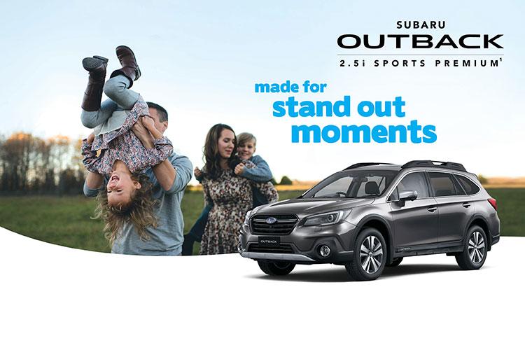 Outback 2.5i Sports Premium AWD