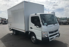Fuso Canter 515 WIDE CAB PANTECH WITH TAILGATE