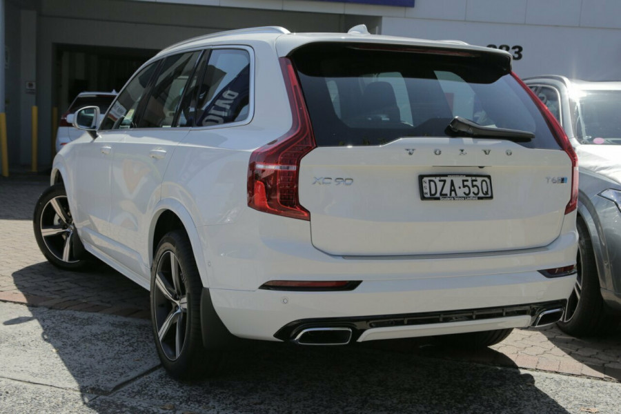 2018 MY19 Volvo XC90 L Series T6 R-Design (AWD) Suv Mobile Image 3