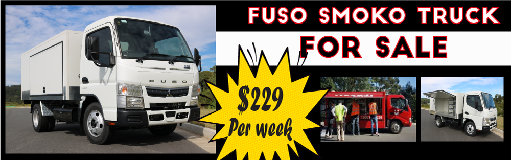 FUSO READY TO WORK SMOKO TRUCK