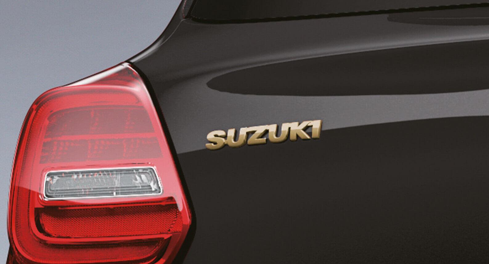 Gold Emblem - Suzuki