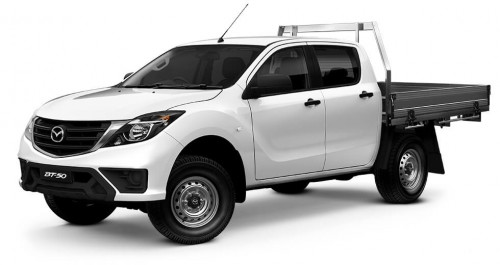 2019 Mazda BT-50 UR 4x4 3.2L Dual Cab Chassis XT Other