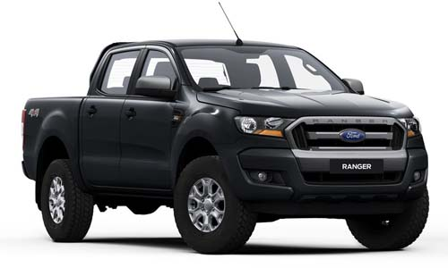 2018 Ford Ranger PX MkII 4x4 XLS Double Cab Pickup 3.2L Utility
