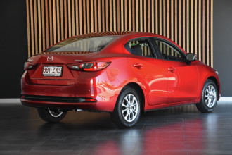 2019 MY20 Mazda 2 DJ Series G15 Pure Sedan Image 3