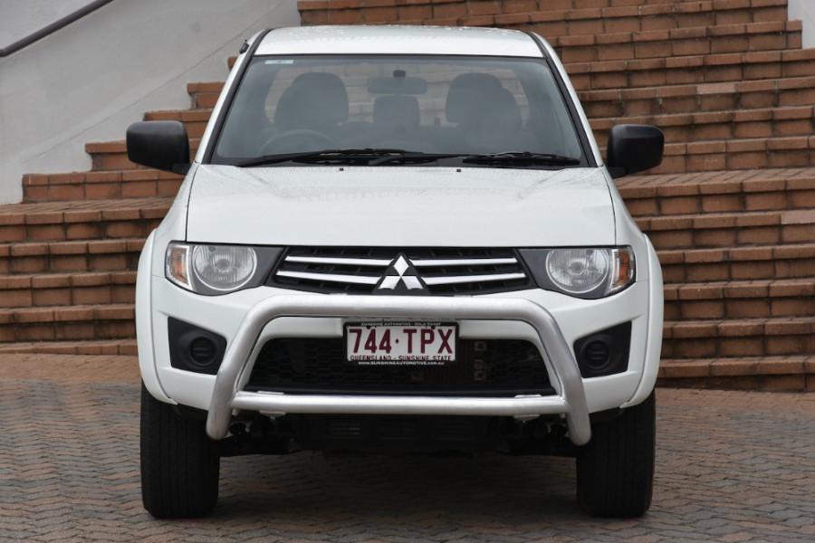 2013 Mitsubishi Triton MN MY13 GLX Utility