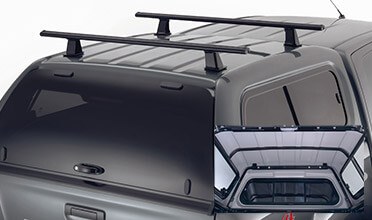 Canopy Roof Bars with Internal Support Frame