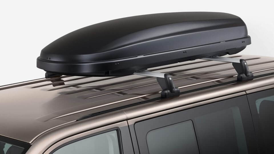 Help carry the load Roof bars and box Image