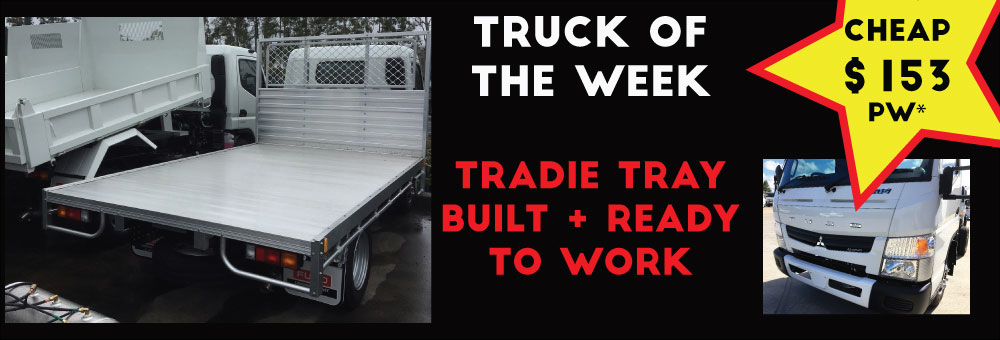 TRUCK OF THE WEEK - TRADIE TRAY BUILT AND READY TO WORK