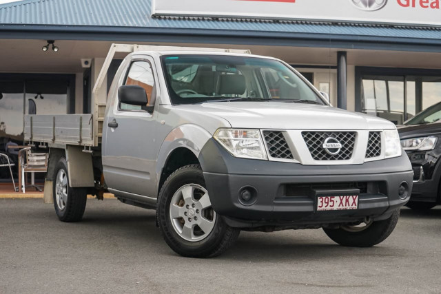 2008 Nissan Navara D40 RX Cab chassis