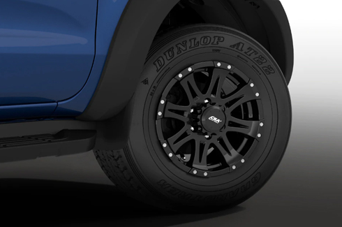 """<img src=""""Alloy Wheels - Raptor Style 16X8 35+ Offset - (Fender Flares required)"""