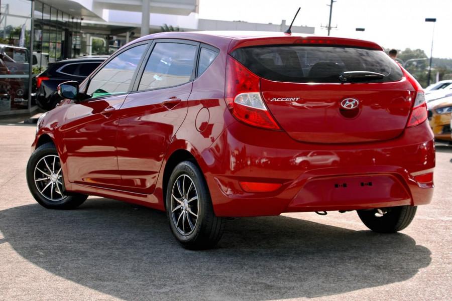 2015 Hyundai Accent RB3 MY16 Active Hatchback