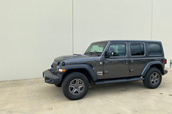 2019 Jeep Wrangler JL Sport S Unlimited Suv Image 4