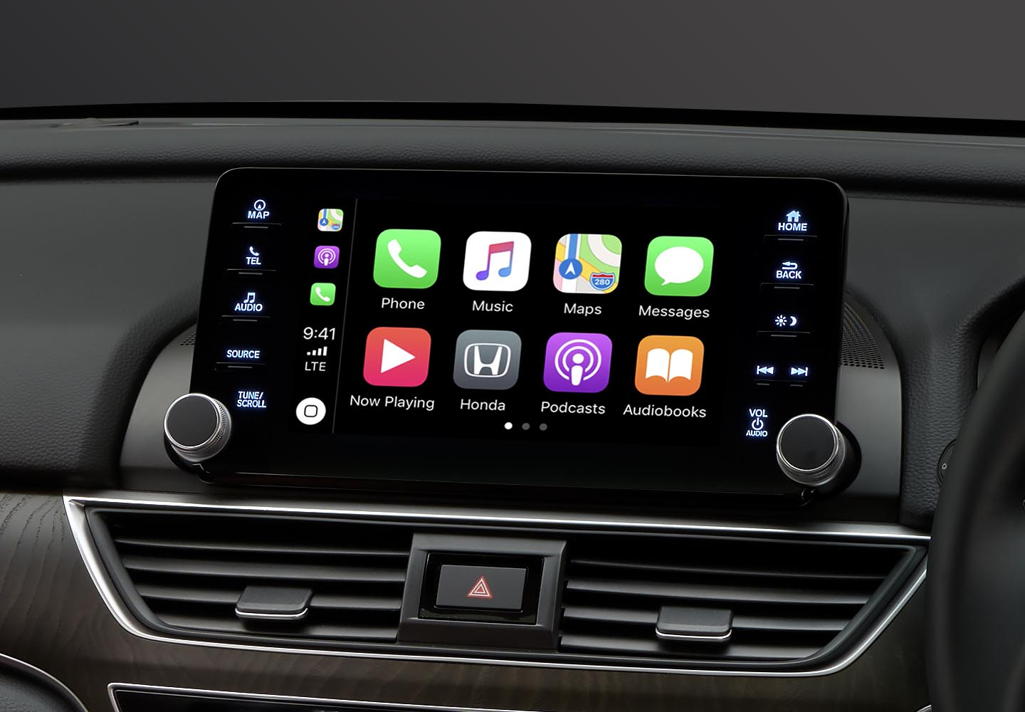 Accord Apple Carplay®<sup>1</sup> & Android Auto®<sup>2</sup>