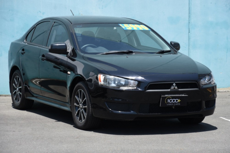 2010 MY11 Mitsubishi Lancer CJ MY11 ES Sedan Image 1