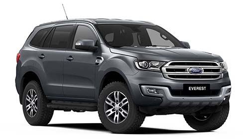2019 MY18 Ford Everest UA Trend 4WD Suv