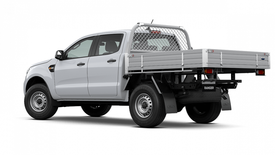 2020 MY20.75 Ford Ranger PX MkIII XL Double Cab Chassis Cab chassis Image 6