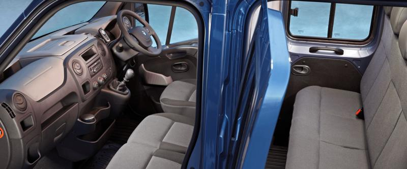 Master Cab Chassis 7-Seater Cabin