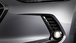 All-New Elantra Front fog lamps
