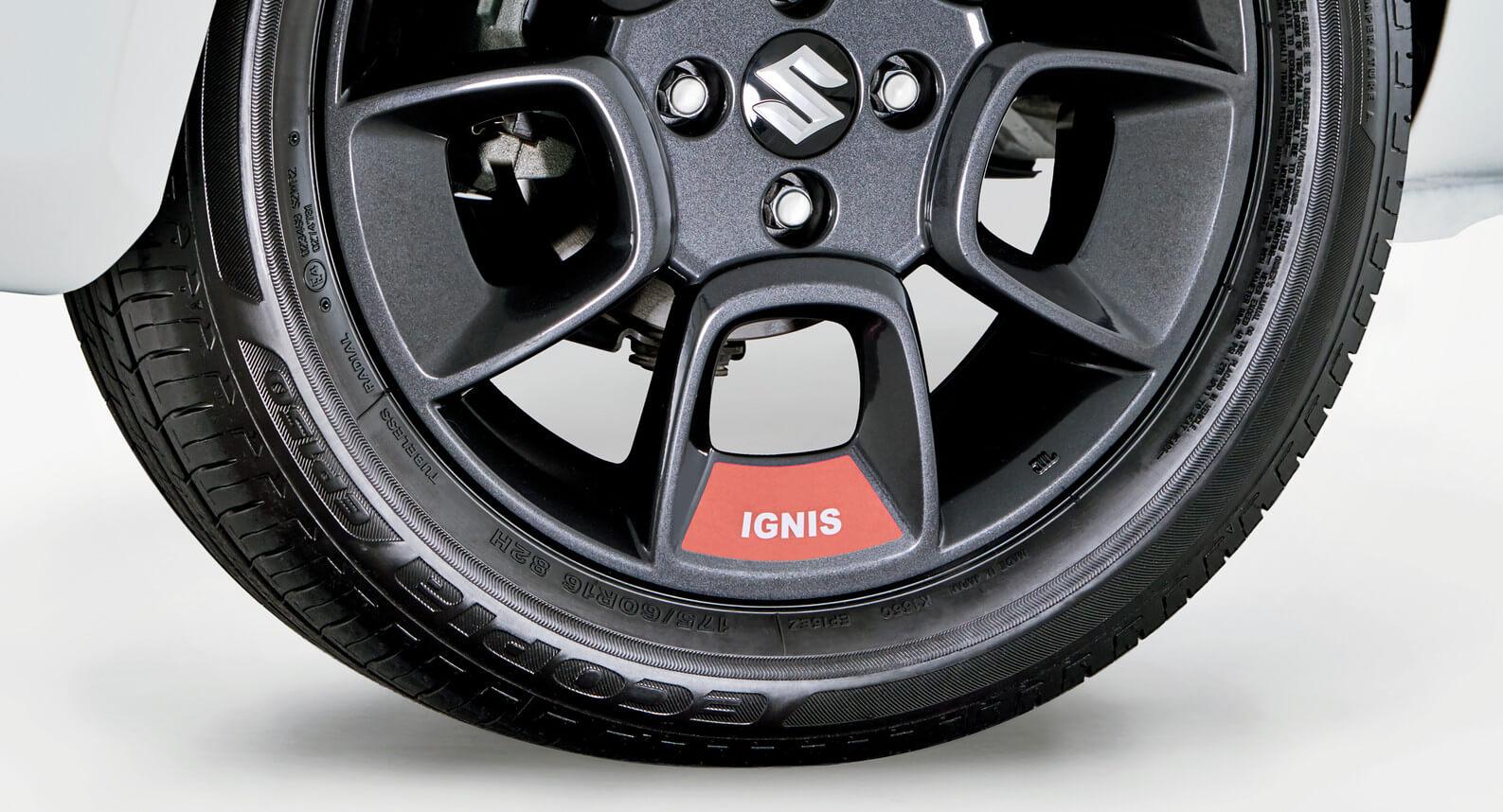 """Ignis - 16"""" Wheel Decal Set - Orange"""