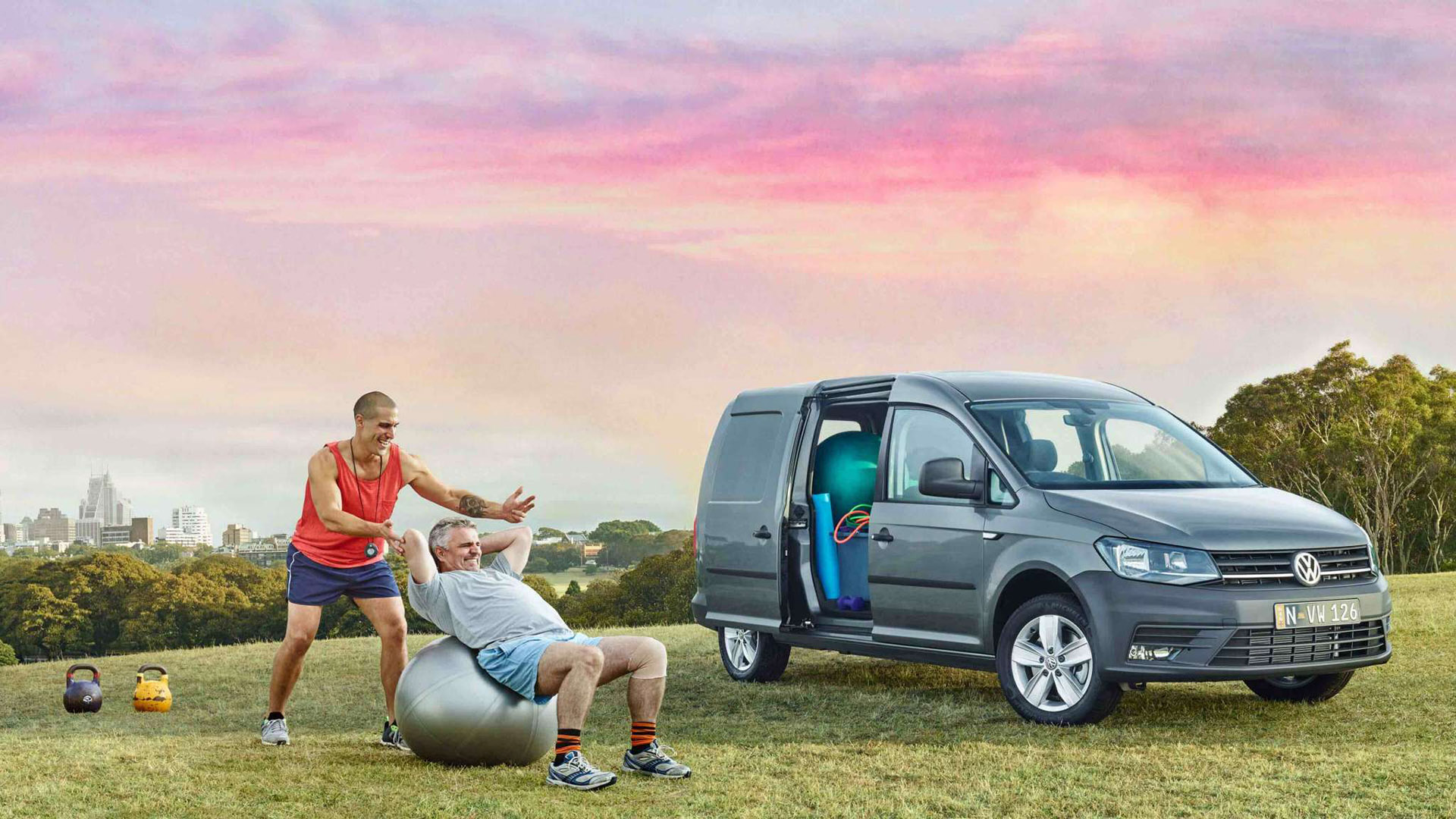 A lot goes into a Volkswagen Caddy Van. Image