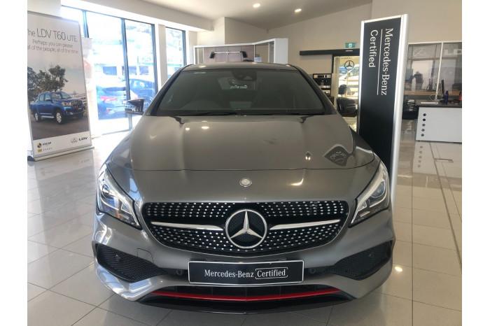 2016 Mercedes-Benz A Class C117 807MY CLA250 Coupe