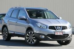 Nissan Dualis +2 Hatch X-tronic 2WD Ti-L J107 Series 3 MY12