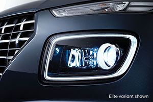 Venue Daytime Running Lights.