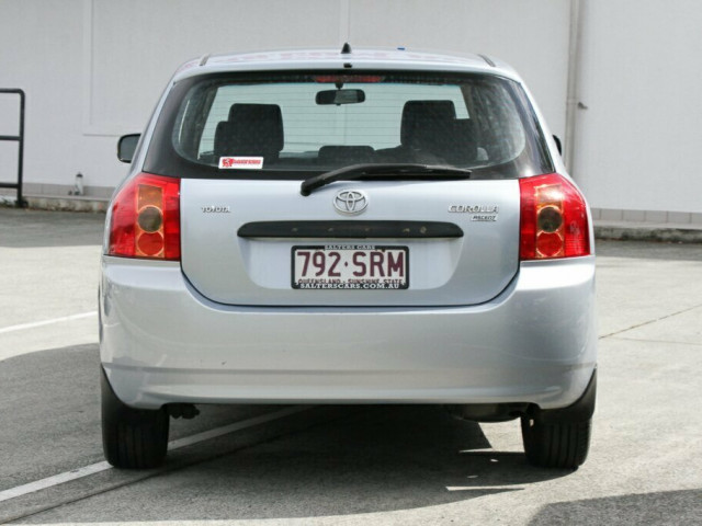 2005 Toyota Corolla ZZE122R 5Y Ascent Hatchback