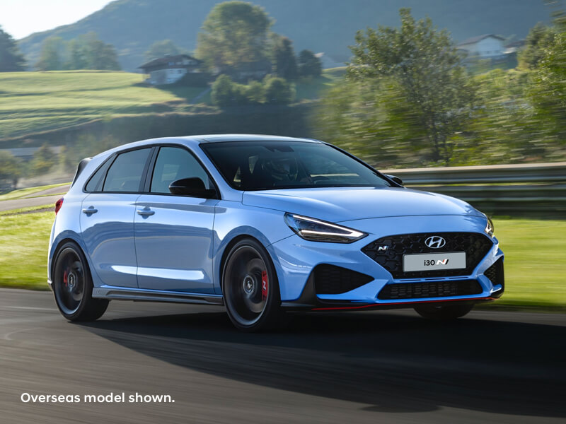 Hyundai i30 N enhanced for maximum driving fun. Image