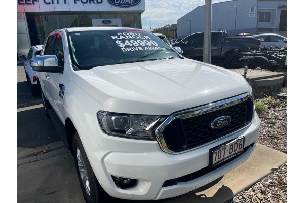 2020 MY21.25 Ford Ranger PX MkIII XLT Hi-Rider Double Cab Utility Image 2