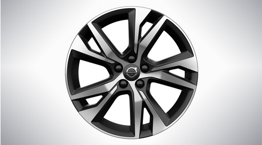 "18"" 5-Y Spoke Black Diamond Cut - 1106"