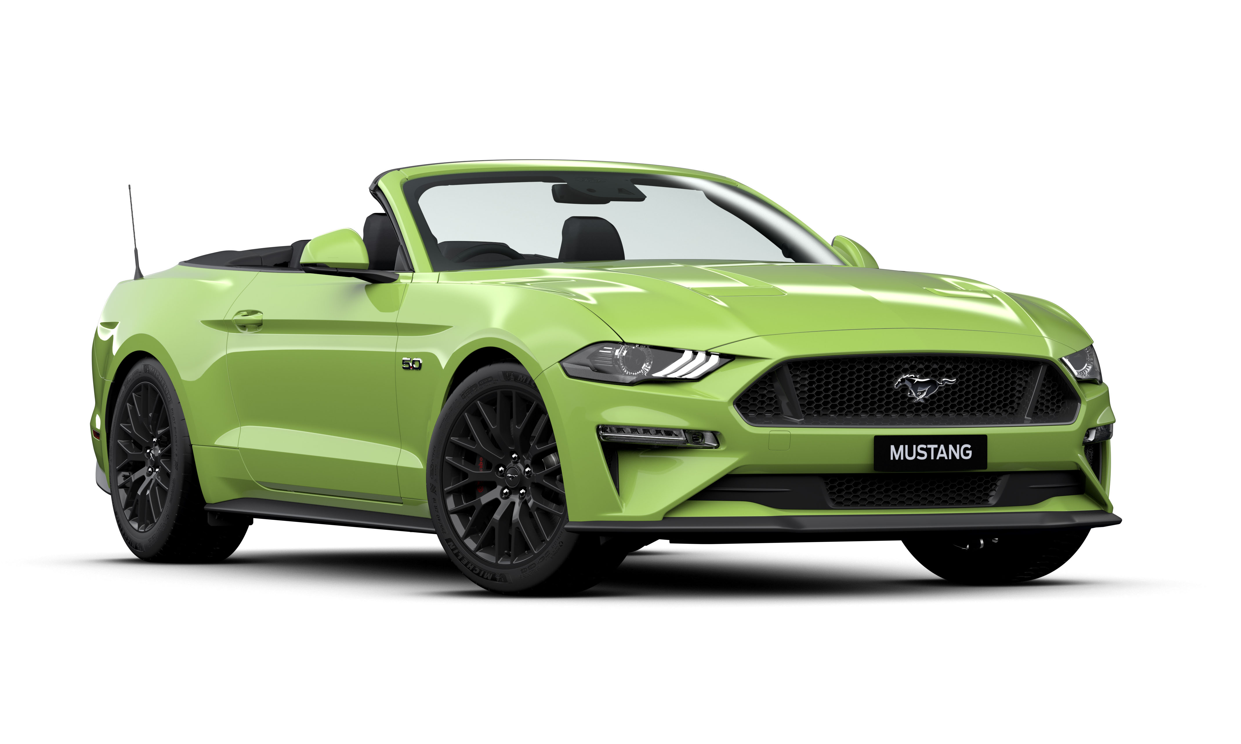 2019 MY20 Ford Mustang FN GT Convertible Convertible