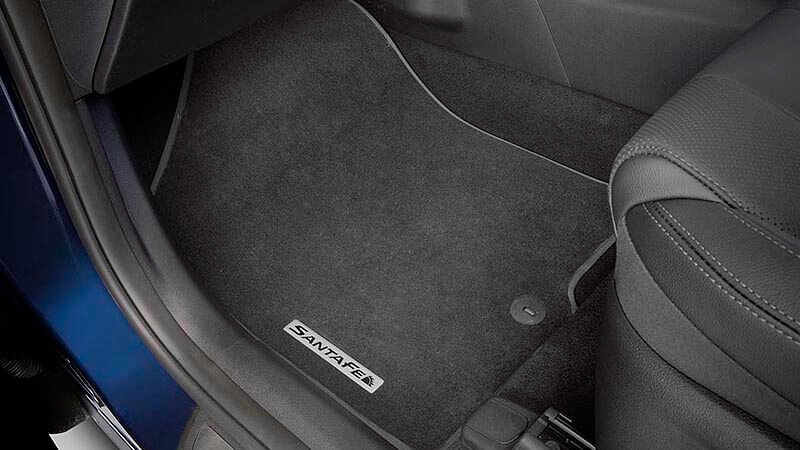 Tailored carpet floor mats (set of 3) - black