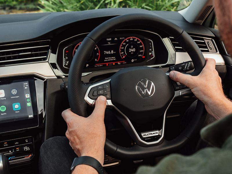 Control at your fingertips Digital Cockpit Image
