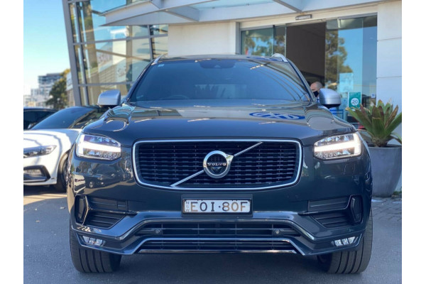 2018 Volvo XC90 L Series MY18 T6 Geartronic AWD R-Design Suv Image 2