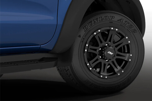 "<img src=""Alloy Wheels - Raptor Style 18X8 35+ Offset - (Fender Flares required)"