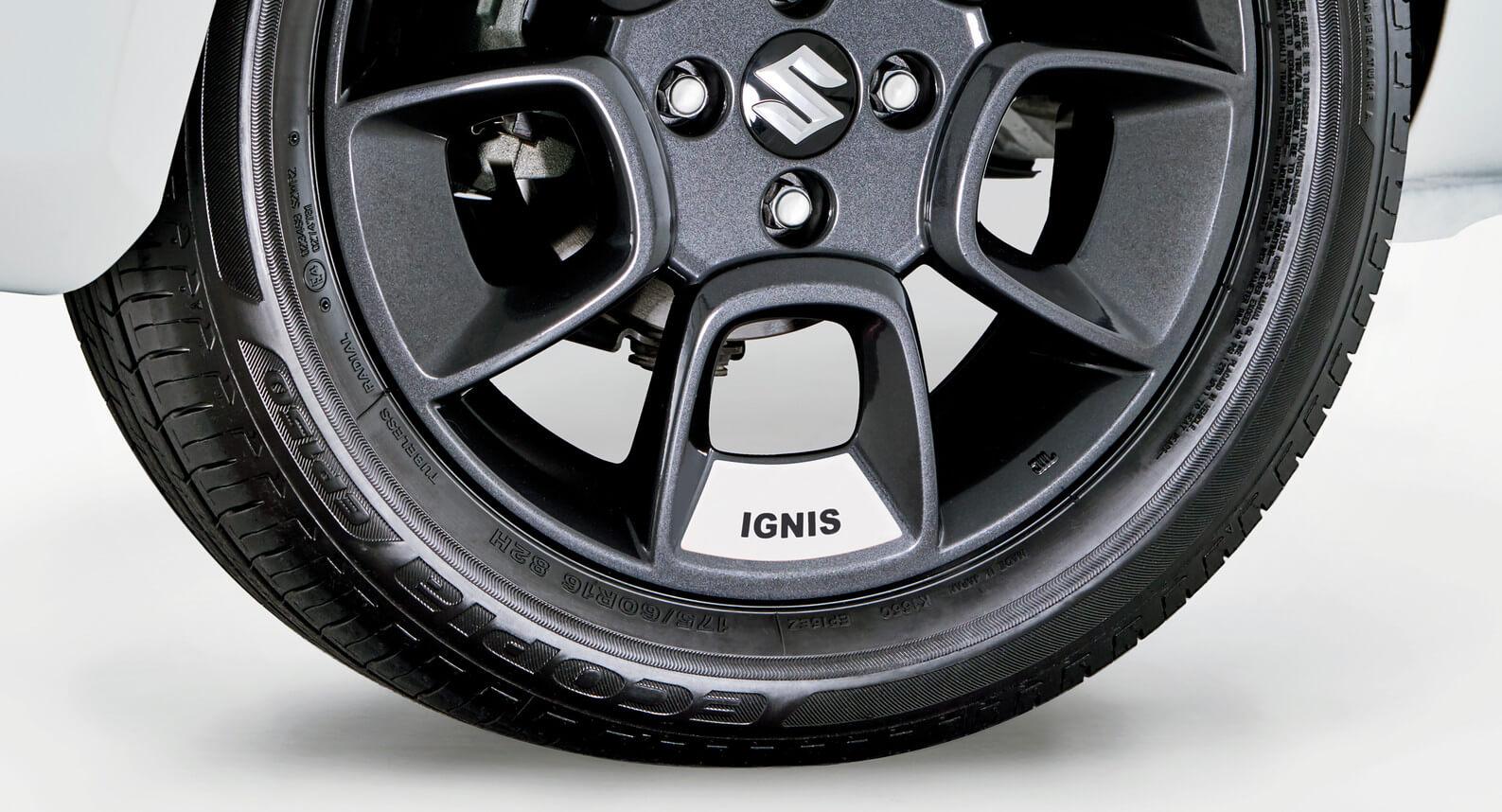 """Ignis - 16"""" Wheel Decal Set, White"""